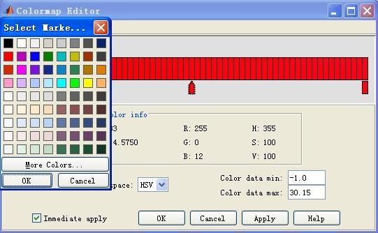 matlab如何自定义colorbar