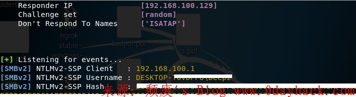 PDF窃取Windows NTLM哈希值