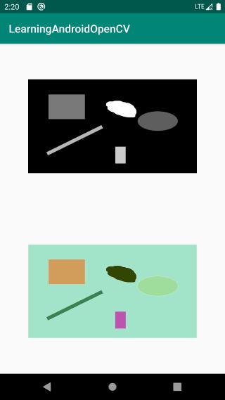 彩色标记区域