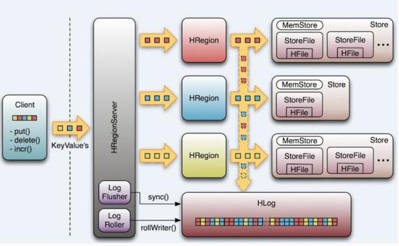 hbase数据模型