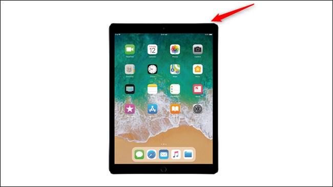 Apple iPad Pro 2017 Power Button