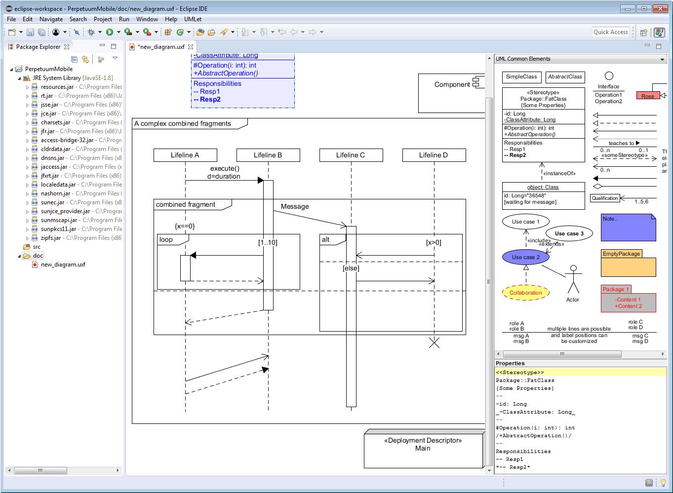 在Eclipse中安装UMLet插件