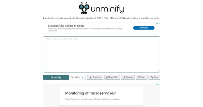 Unminify