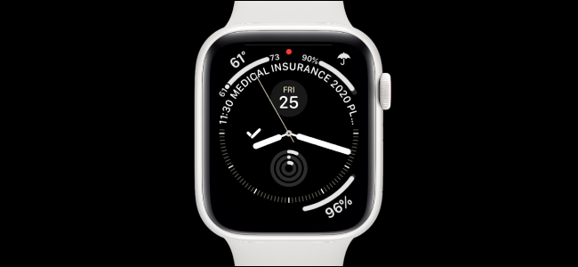 Apple Watch With Infograph Watch Face