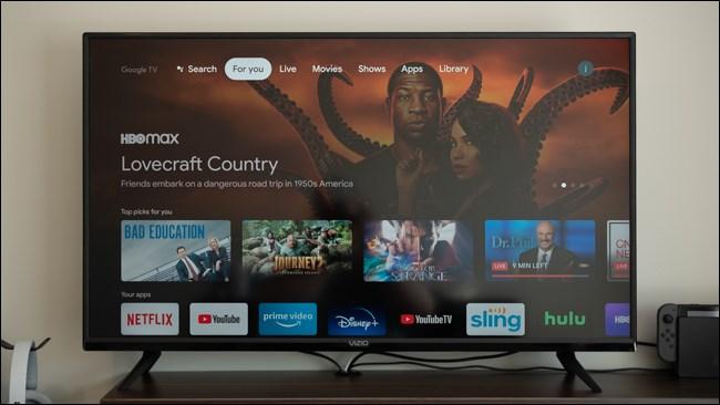 تم إعداد جهاز Chromecast مع Google TV