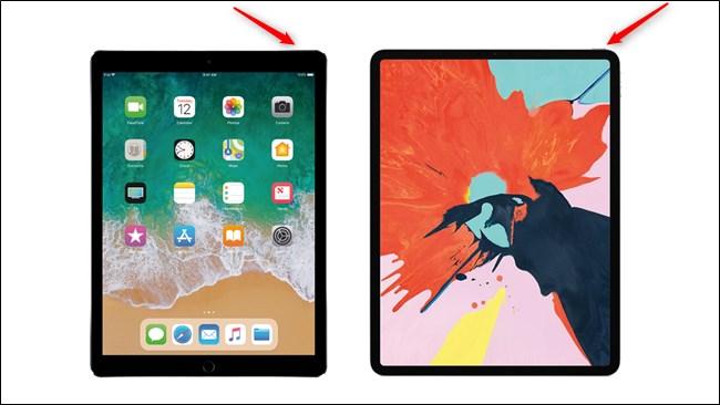 Apple iPad Pro Generations Power Button