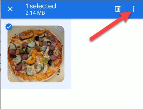 files by google menu