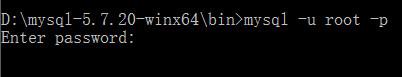 登陆MySQL
