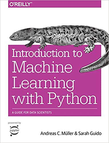 Introduction to Machine Learning with Python   Source: Amazon   Best Data Science Books   Data Science Books