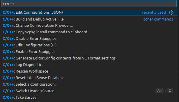 VScode打开json格式的配置文件