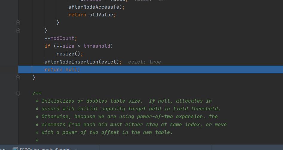 初始化完之后modCount变量会进行一次递增