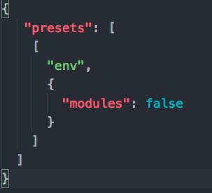 modules-false