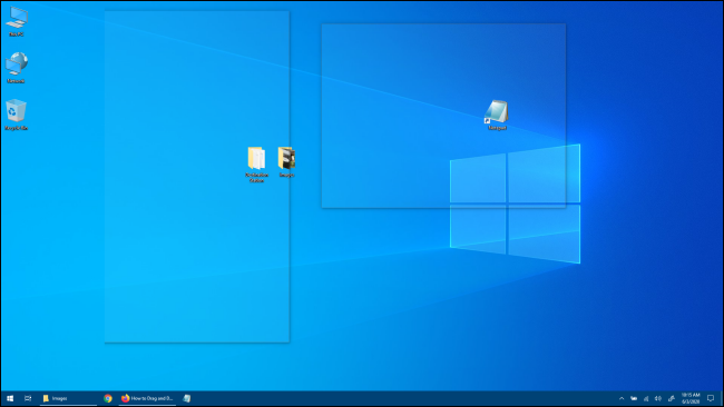 Windows 10 Desktop Peek