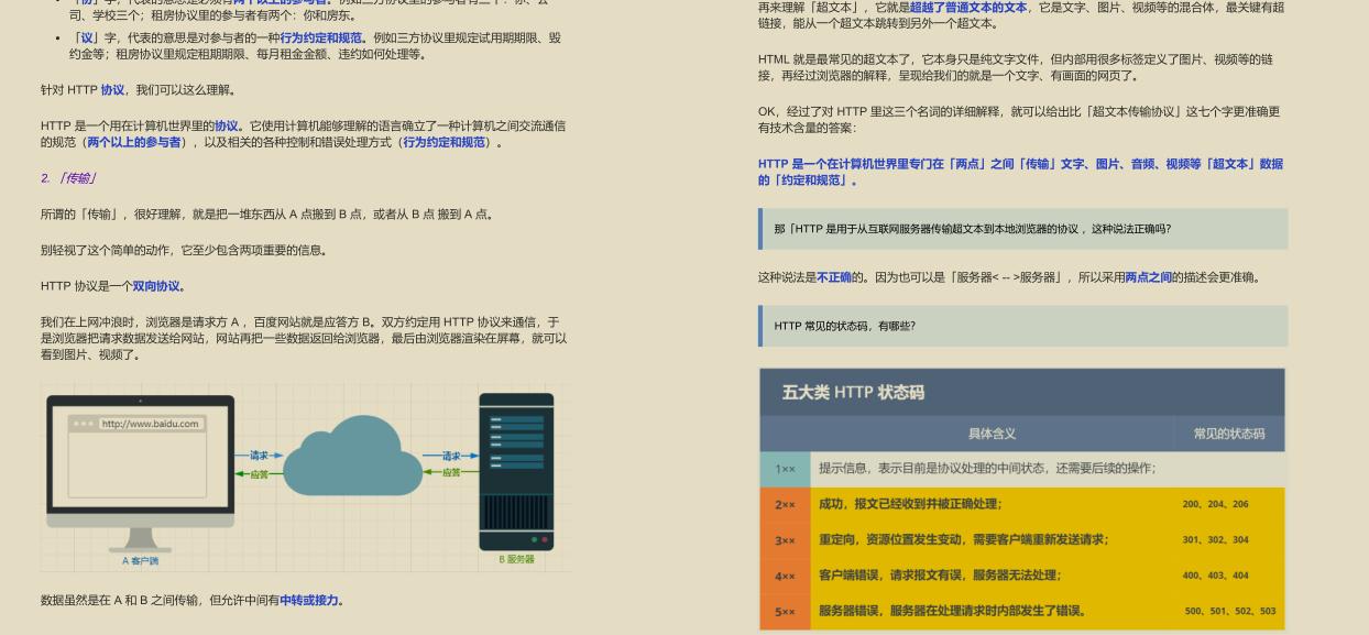 "GitHub 标星过万!腾讯技术官发布的""神仙文档""图解网络"