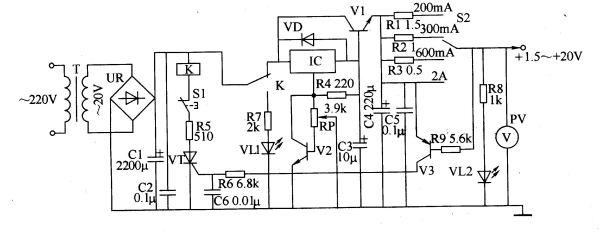 高频可调开关电源工作原理 直流可调电源的主要部件