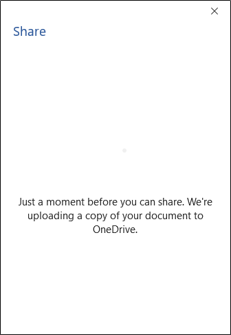 Uploading to OneDrive note