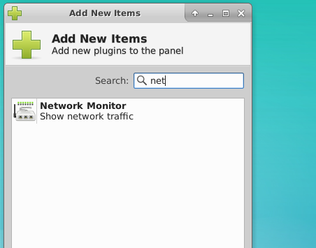 Add Network Monitor