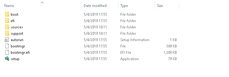 Windows 10 Installation USB Drive
