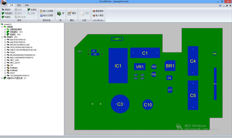 circuitworks界面