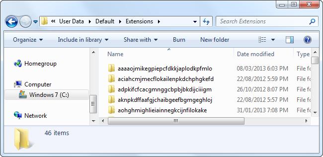chrome-user-data-extensions-folder