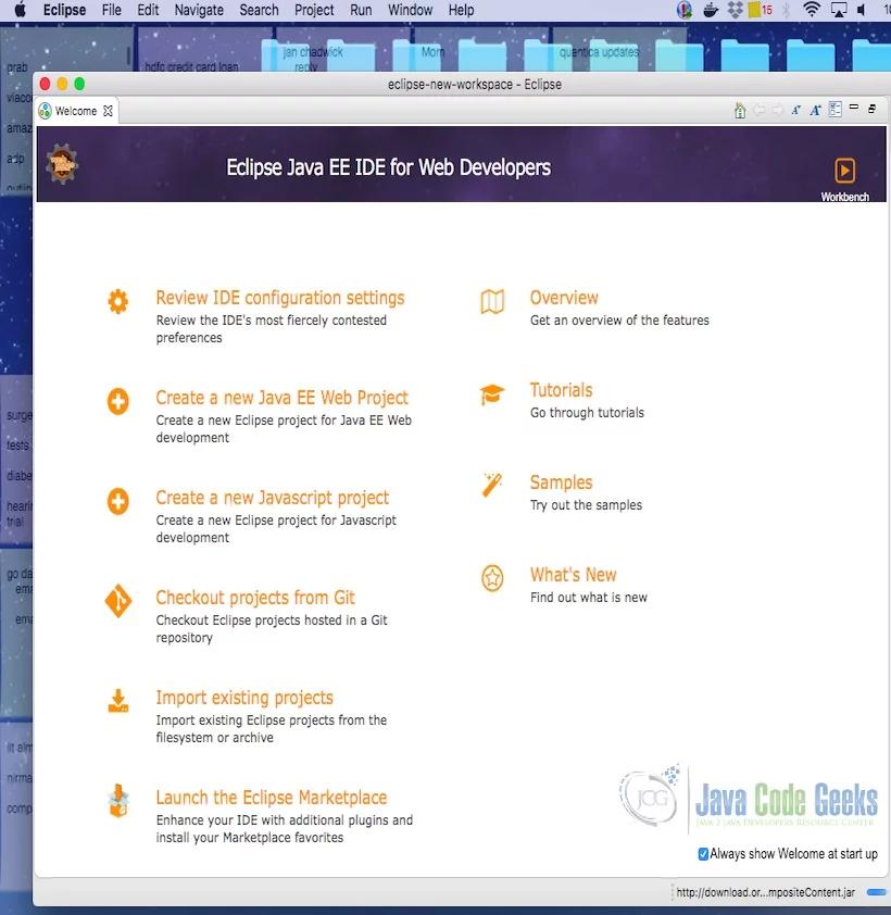 Java和JavaScript之间的区别-Eclipse Workbench