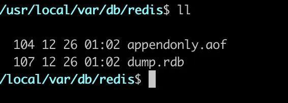 面试官:说下 Redis 是如何保证在宕机后数据不丢失的