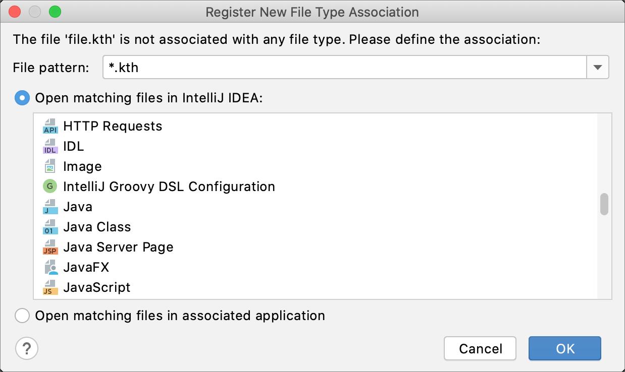 注册新文件类型