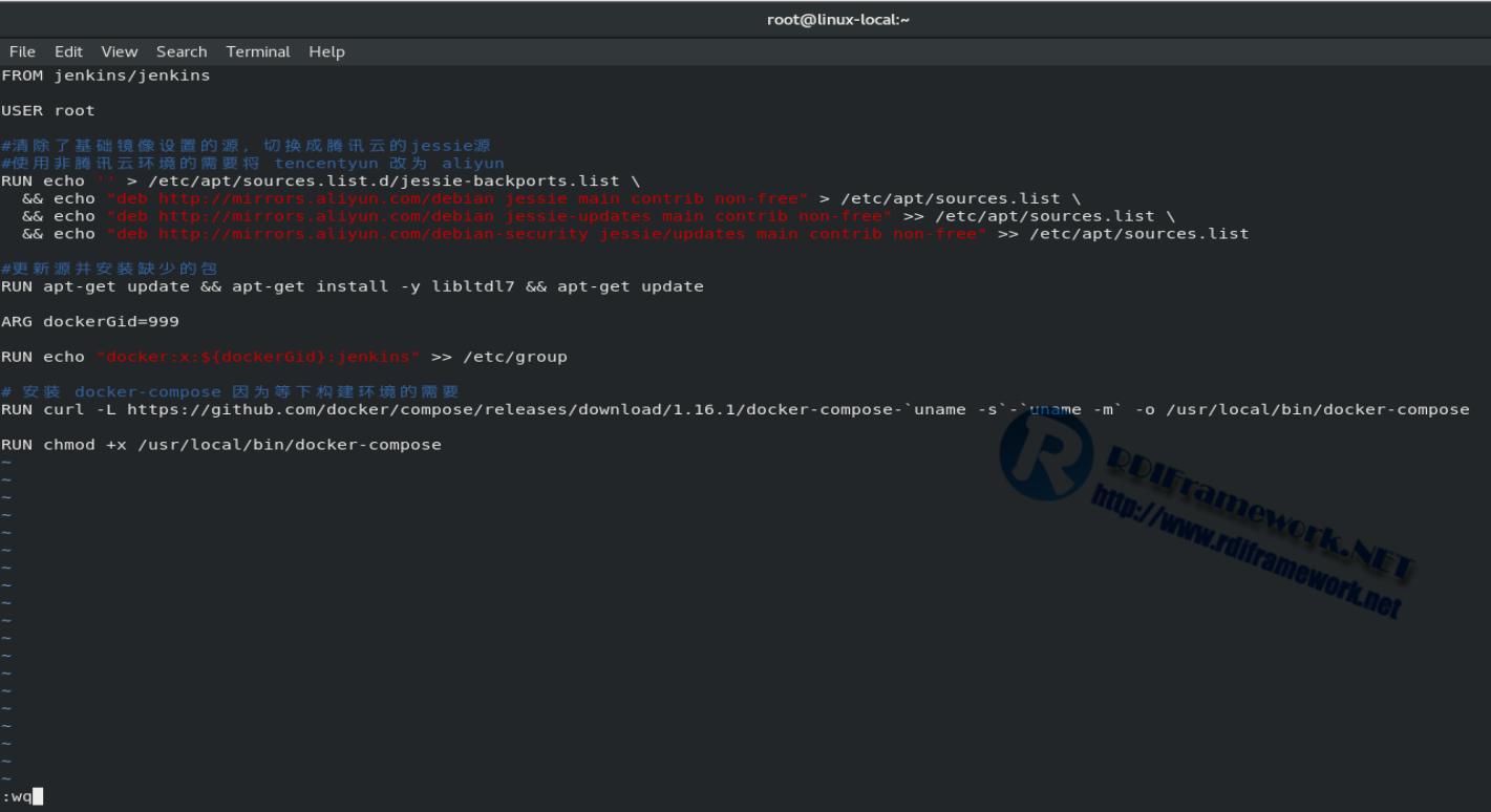 构建自定义的Dockerfile