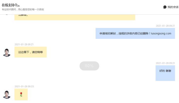 卢松松博客因涉政内容域名被封禁 卢松松博客 微新闻 第3张