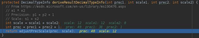 Hive 2.3 decimal精度损失问题_第1张图片