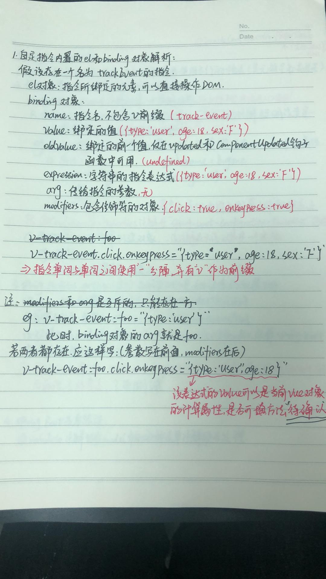 自定义指令解析