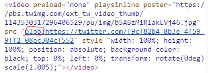 下载 blob视频, 如何下载网站中的blob:https:// 视频