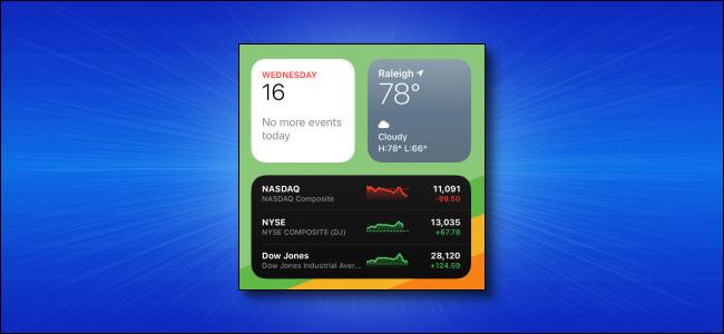 iPadOS 14 Widgets on iPad