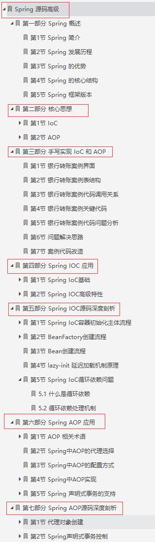 吹爆!阿里新产Spring源码高级笔记,原来看懂源码如此简单