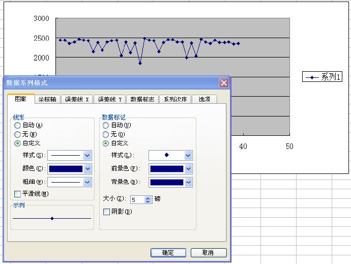 Excel画折线图