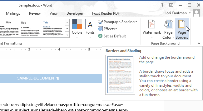 02_clicking_page_borders_button